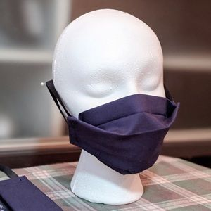 Handmade face masks with filter compartment